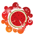 abstract background with fresh watermelon vector image