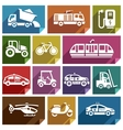 Transport flat icon-06 vector image vector image