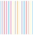 Seamless pastel stripes background or tile pattern vector image
