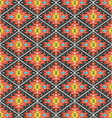 Aztec geometric seamless colorful pattern vector image vector image