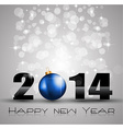 Christmas and new year Themed frame vector image vector image