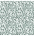 Flowers Lace Pattern vector image