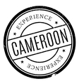 Cameroon stamp rubber grunge vector image