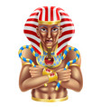 egyptian avatar vector image vector image