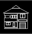 house it is icon vector image