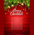 glimmered Christmas background with evening vector image vector image