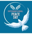 International Peace Day Emblem vector image