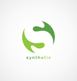 S letter logotype vector image
