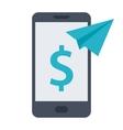 Mobile Money Transfer vector image vector image