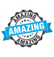 amazing stamp sign seal vector image
