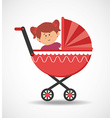 baby in pram vector image