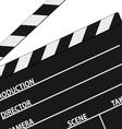 film tape symbol black vector image