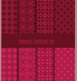 decorative line tile backgrounds vector image