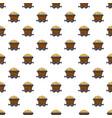 Money trolley pattern vector image