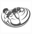 Boxing Print vector image