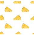 Cheese Slices Seamless Pattern Milk Product vector image