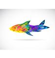 Fish abstract vector image