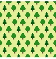 Seamless pattern of forestry tree vector image