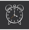 Alarm Clock Hand Drawn vector image