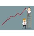 Unfair business practices flat concept vector image