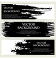 Three grunge banners vector image