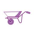 wheelbarrow icon image vector image