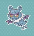 cartoon funny bat vector image