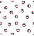 Global Industry Flat Seamless Pattern vector image