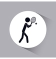 people active design vector image