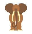 African animal elephant vector image