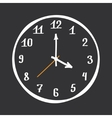 Hand Drawn Clock vector image