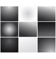 Set of transparency grid backgrounds vector image