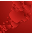 Valentines Day abstract background EPS 10 vector image