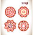 beautiful ethnic ornament vector image