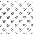 handcuffs pattern vector image