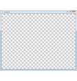 Blank image vector image