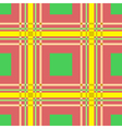 seamless pattern of squares and lines vector image