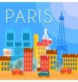 Paris City Background vector image