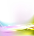 abstract bright and flow wave background vector image