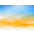 Light sky vector image