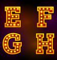 light font vector image