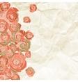 Vintage background with stamp-frame vector image