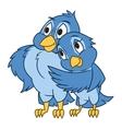 Pair of birds vector image