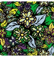Boho Style Hand Drawn Seamless Pattern vector image vector image
