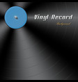 vinyl record background with the place for the vector image