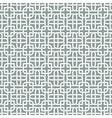 Monochromatic arabic pattern vector image