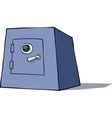 cartoon safe vector image vector image