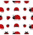 Ladybug Ladybird icon set Baby collection Funny vector image