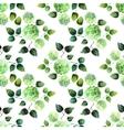 Watercolor hydrangea pattern vector image
