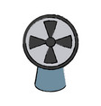 air fan ventilation vector image